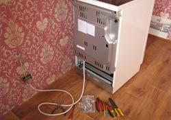 Подключение электроплиты. Тюменские электрики.