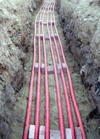 прокладка силовых кабелей. Тюменские электрики.