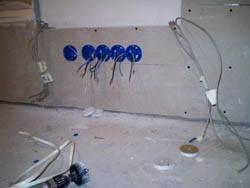 Электромонтажные работы в квартирах новостройках в Тюмени. Электромонтаж компанией Русский электрик