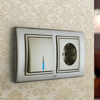 Установка выключателей в Тюмени. Монтаж, ремонт, замена выключателей, розеток Тюмень.